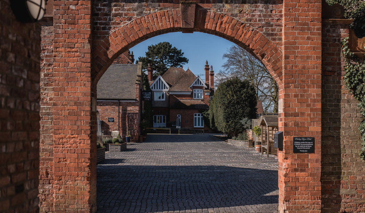 Healing Manor Arch Entrance Grimsby