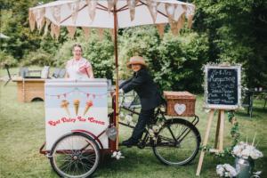 Healing Manor Hotel Grimsby Gardens on yer bike ice cream