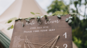 Healing Manor Hotel Grimsby Gardens tipi wedding
