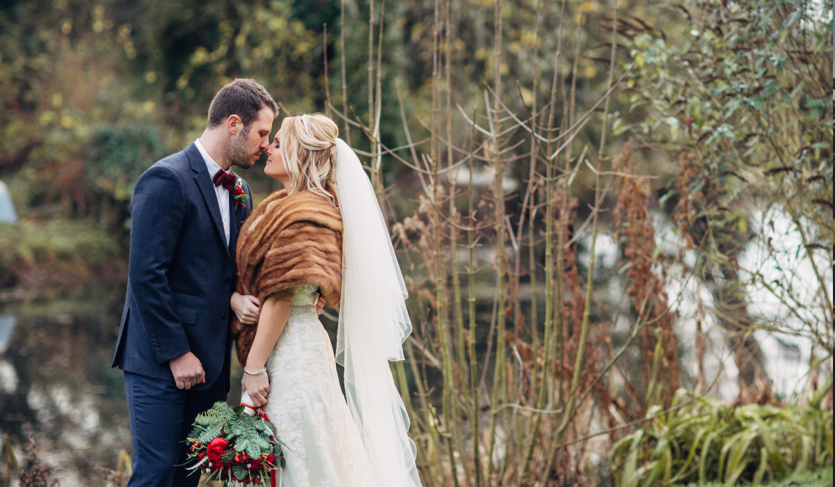 Healing Manor Hotel winter wedding