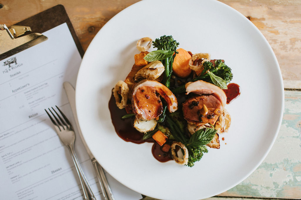 The Pig & Whistle Summer Menu