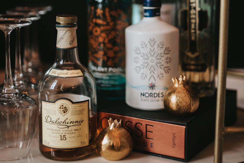 Whisky Tasting at Healing Manor hotel