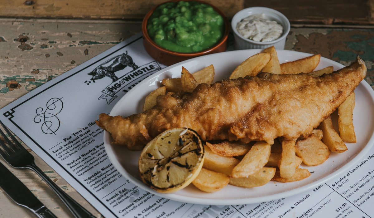 The Pig and Whistle Pub near Grimsby Fish and Chips by Steven Bennett The Lincolnshire Chefs