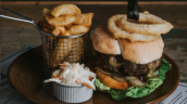 The Pig and Whistle Pub near Grimsby Steak Burger by Steven Bennett The Lincolnshire Chef
