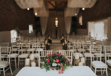 Danny and Sam's winter wedding by Henry Lowther