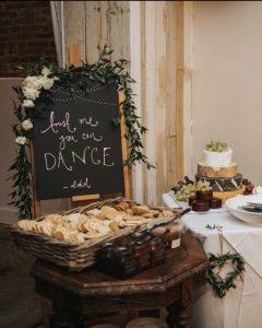 Cheese Table Wedding