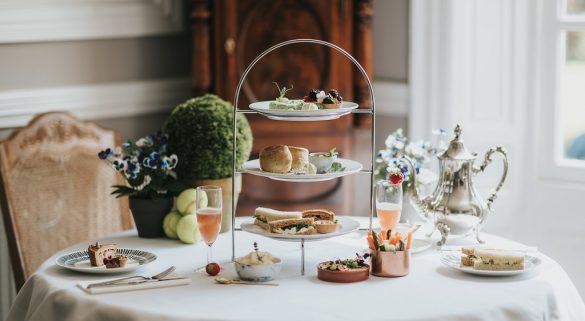 Summer Wimbledon Afternoon Tea at Healing Manor Hotel