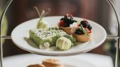 Wimbledon afternoon tea served at Healing Manor Hotel near Grimsby
