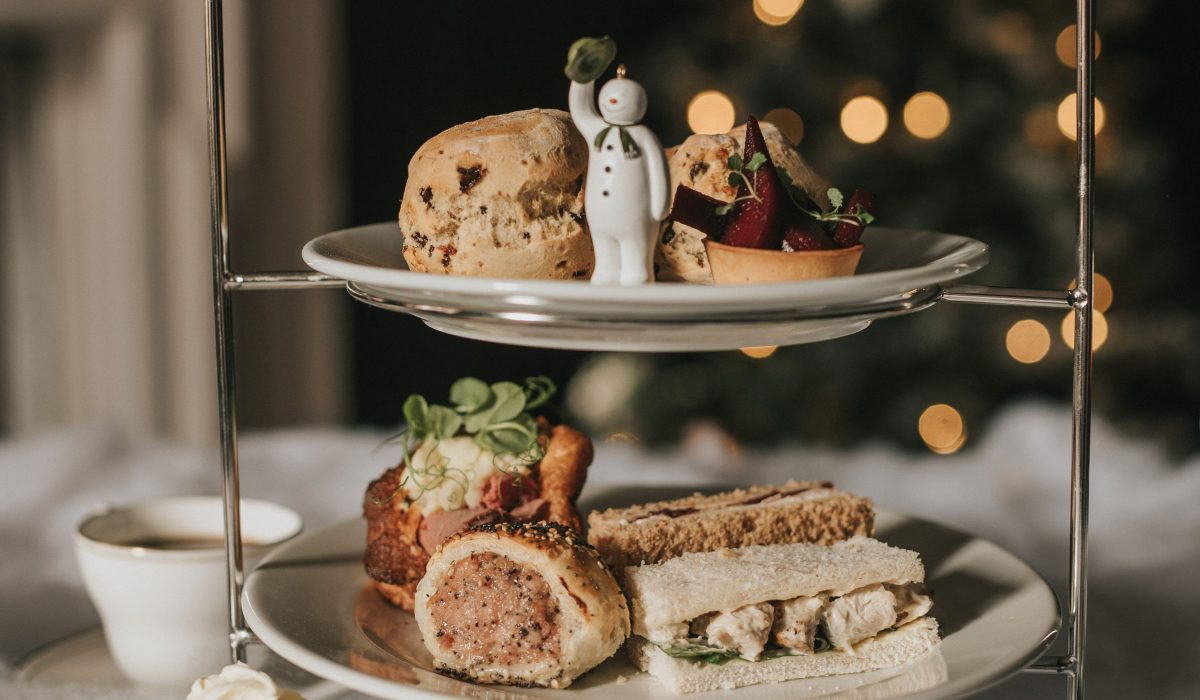 The Snowman Christmas Afternoon Tea at Healing Manor Hotel