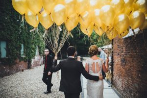Healing Manor Hotel, Lincolnshire Wedding Venue, Charlotte and Michael's Wedding photographed by Flawless Photography balloons