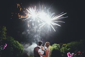 Healing Manor Hotel, Lincolnshire Wedding Venue, Charlotte and Michael's Wedding photographed by Flawless Photography fireworks
