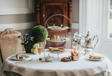 Wimbledon Afternoon Tea at Healing Manor Hotel