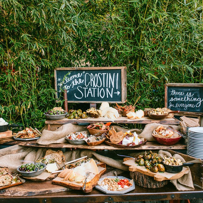 Antipasti Station Wedding Food Trends Healing Manor Hotel