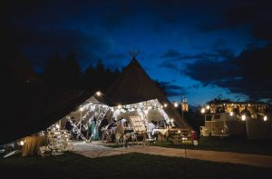 Lincolnshire Teepee Wedding at Healing Manor Hotel