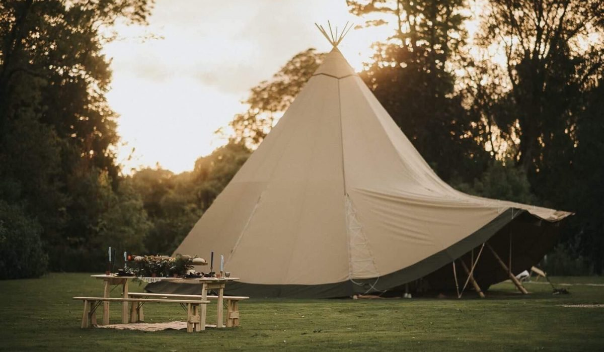 Healing Manor Teepee Weddings Lincolnshire