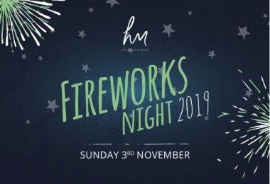 Healing Manor Fireworks Grimsby