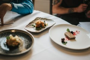 Pig Cheek Scampi Pig and Whistle Autumn Menu Launch