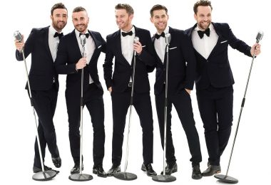 Overtones Christmas Party at Healing Manor Hotel