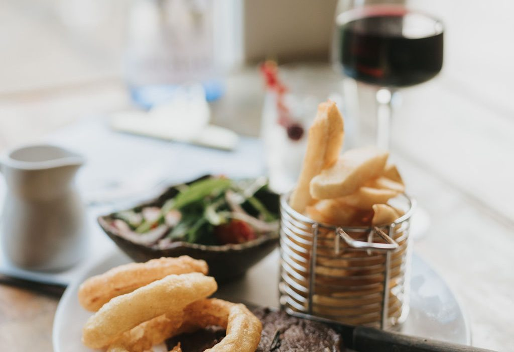 Steak Night at Healing Manor Hotel and The Pig and Whistle