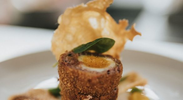 Healing Manor Hotel, The Pig and Whistle Scotch Egg
