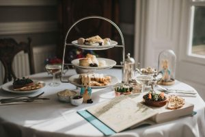 Beatrix Potter Afternoon Tea at Healing Manor Hotel by Steven Bennett The Lincolnshire Chef