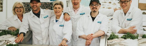 Grimsby Fish Merchant Premier Seafood at Healing Manor Hotel