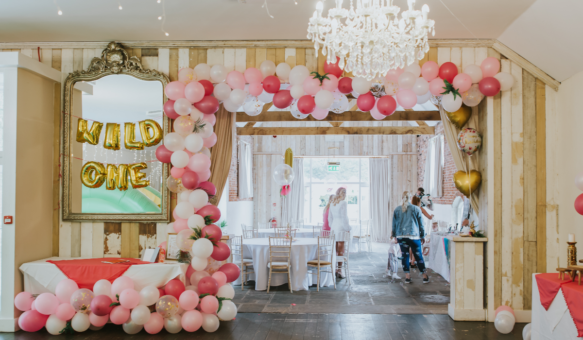 Childrens Barn Birthday Party at Healing Manor Hotel Grimsby, Zoe 34