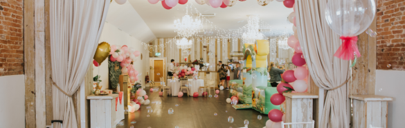 Childrens Barn Birthday Party at Healing Manor Hotel Grimsby