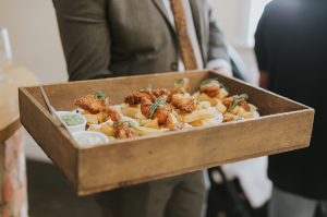 Fish and Chip Canapés