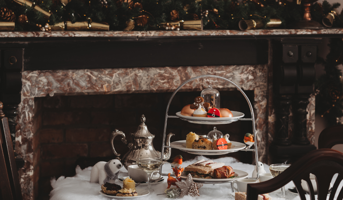 Christmas Afternoon Tea Grimsby Healing Manor Hotel