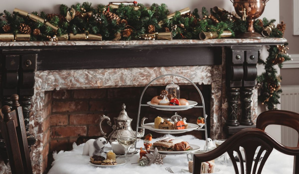 Christmas Afternoon Tea at Healing Manor Hotel
