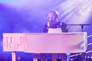 Elton John Christmas Party night at Healing Manor Hotel Grimsby