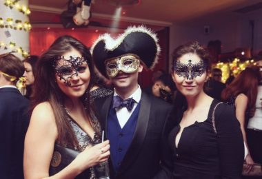 Masquerade Valentine Ball at Healing Manor Hotel near Grimsby