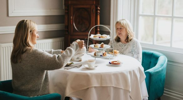 Afternoon Tea at Healing Manor in The Portman