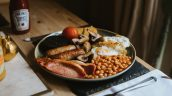 Healing Manor Hotel Take Away Menu - Brunch Full English Breakfast