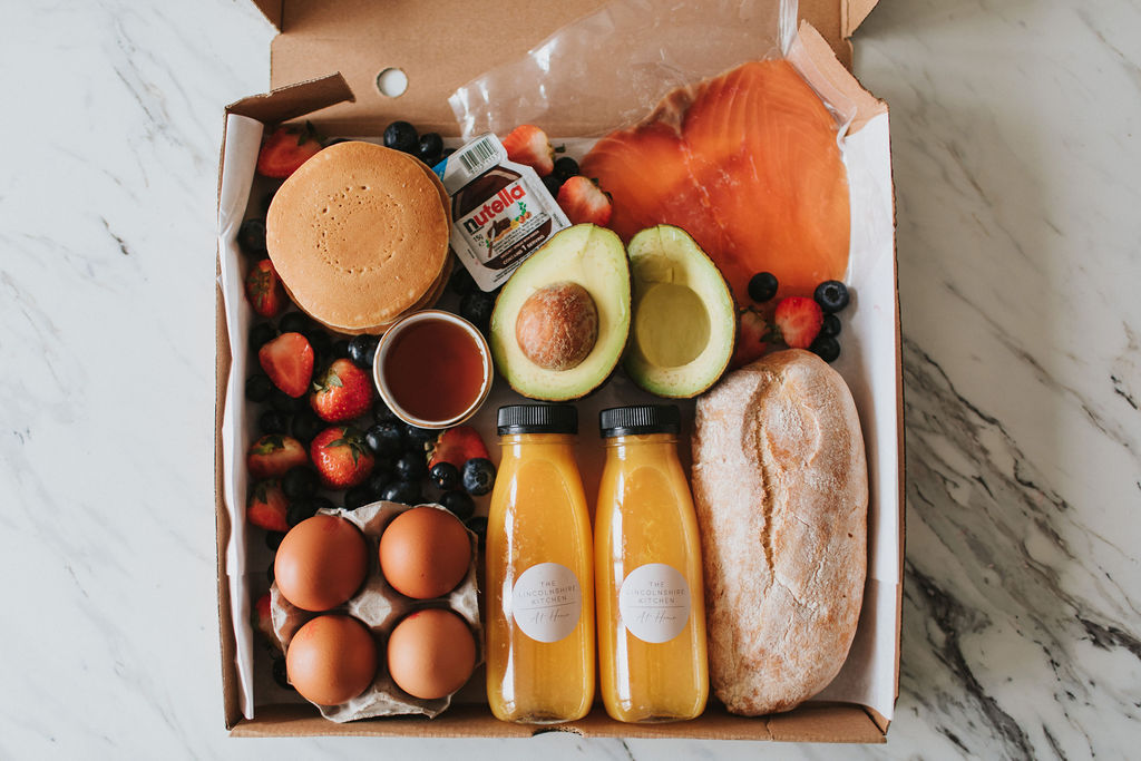 The Lincolnshire Kitchen at Home Grimsby Healing Manor Take Away Cook at Home Brunch Box