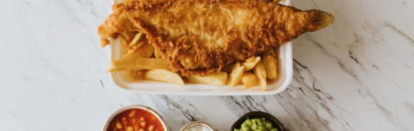 The Lincolnshire Kitchen at Home Grimsby Healing Manor Take Away Fish and Chips