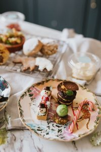 Healing Manor Hotel and The Lincolnshire Kitchen at Home Christmas Take Away Afternoon Tea