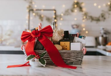 Luxury Lincolnshire Christmas Hamper, brought to you by The Lincolnshire Kitchen at Home