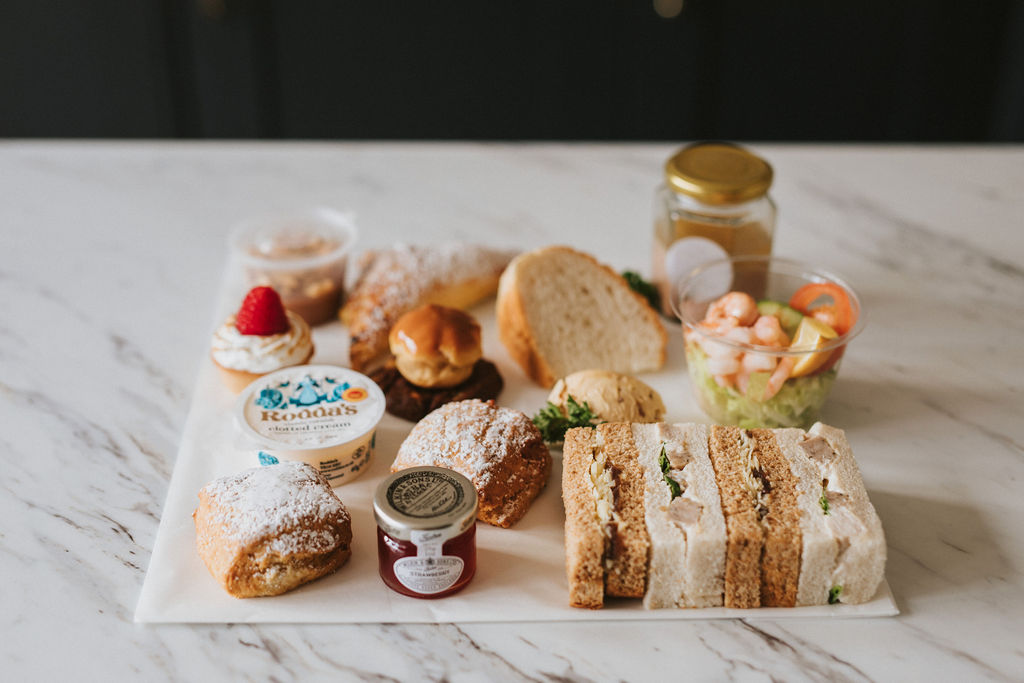 January takeaway Afternoon Tea